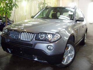 BMW X3 のコーティング