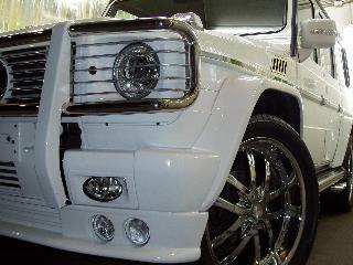 Mercedes Benz G500のコーティング